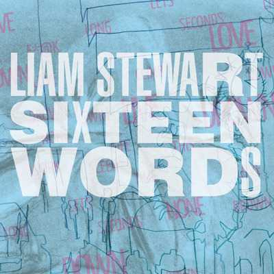 """Cover of """"Sixteen Words"""" by Liam Stewart"""