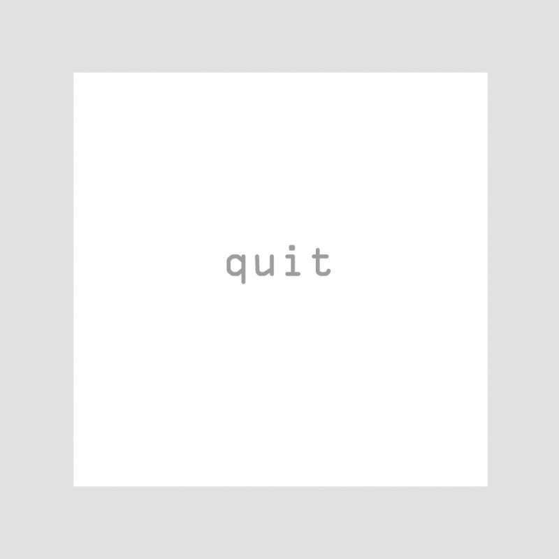 C-Doc - Quit