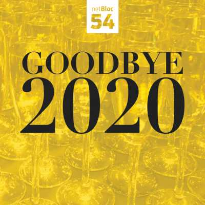 "Cover of ""netBloc Vol. 54: Goodbye 2020"""