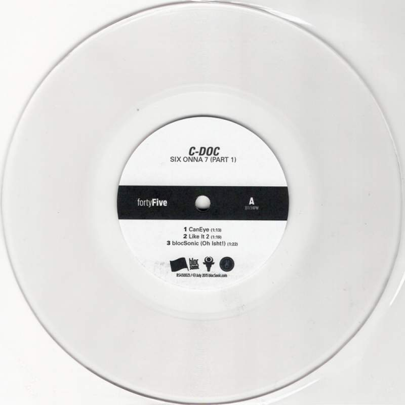 "C-Doc - SIX ONNA 7 (Part 1) (Limited Edition 7"" Vinyl Edition)"