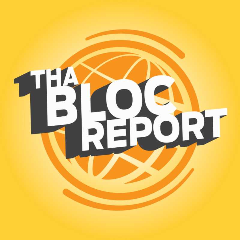 blocCast Tha Bloc Report logo