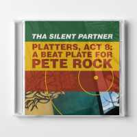 """Cover image for """"Platters, Act 8: A Beat Plate For Pete Rock"""" Physical CD by music artist Tha Silent Partner"""