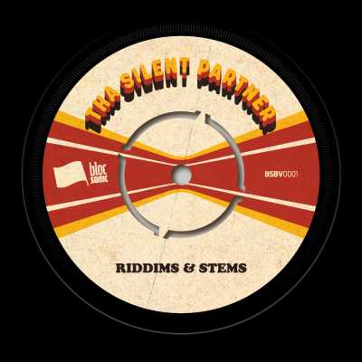 """Cover of """"Riddims & Stems"""" by Tha Silent Partner"""