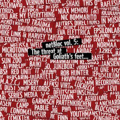 "Cover of ""netBloc Volume 5 (The threat at Goliath's feet...)"" by Various Artists"