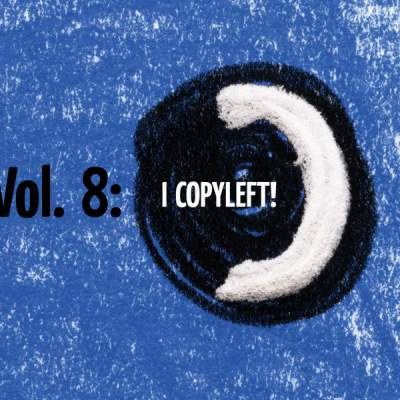 "Cover of ""netBloc Volume 8 (I Copyleft!)"" by Various Artists"