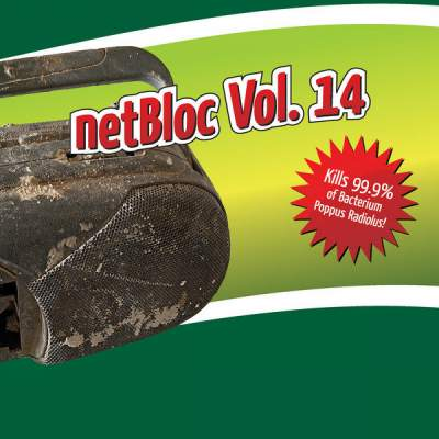 "Cover of ""netBloc Volume 14 (Kills 99.9% of Bacterium Poppus Radiolus!)"" by Various Artists"
