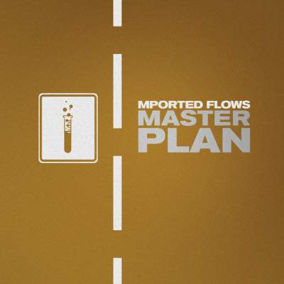 "Cover of ""Master Plan"" by Mported Flows"
