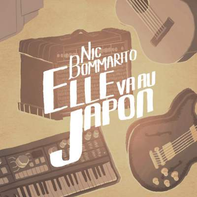 "Cover of ""Elle va au Japon"" by Nic Bommarito"