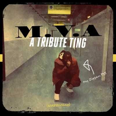 "Cover of ""A Tribute Ting"" by M.V.A"