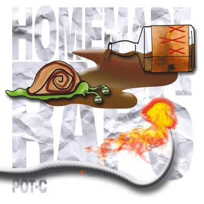"Cover of ""Homemade Raps"" by Pot-C"