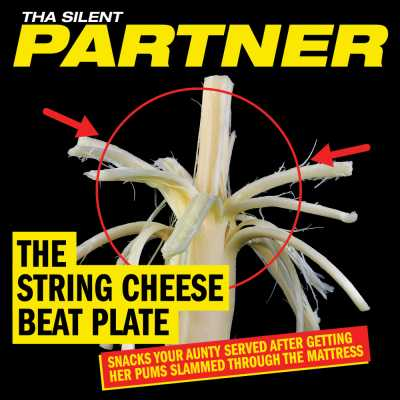 "Cover of ""The String Cheese Beat Plate"" by Tha Silent Partner"