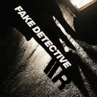 "Cover of ""Fake Detective"" by Viktor Van River"