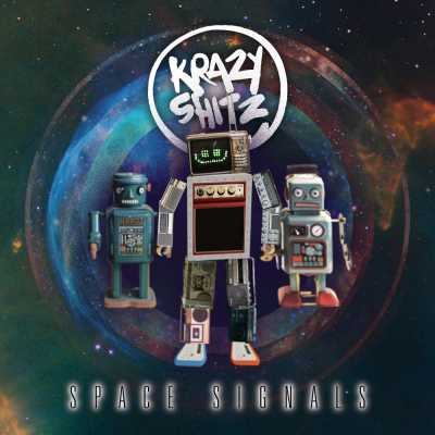 "Cover of ""Space Signals"" by Krazy Shitz"