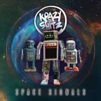 """Cover of """"Space Signals"""" by Krazy Shitz"""