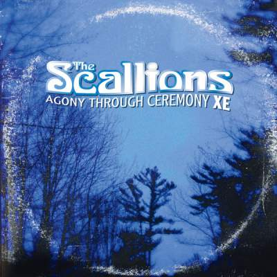 "Cover of ""Agony Through Ceremony XE"" by The Scallions"